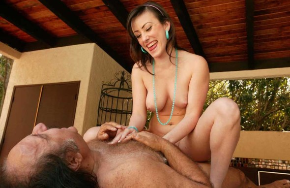 Dirty Old Man And Young Teen 3 590x382 Dirty Old Man And Young Teen Sex Pics